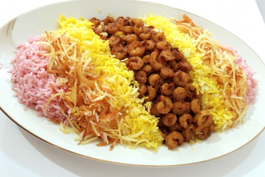 Best Local Food in Qeshm hawari with shrimp