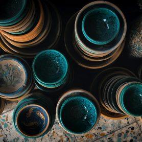 Meybod Ceramics, Yazd, Iran