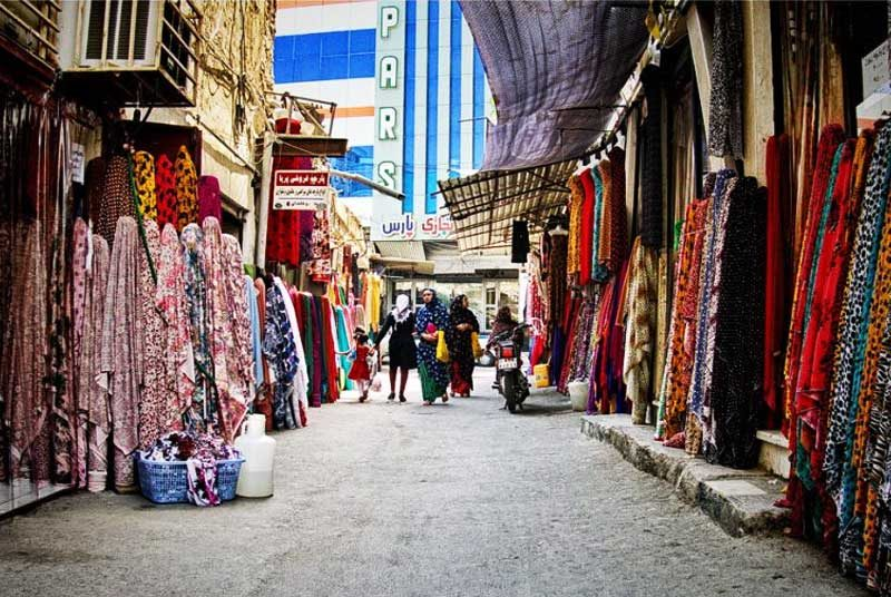 Best Places For Shopping In Qeshm: Qeshm old bazaar