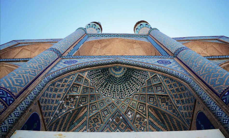 Mosques in Yazd
