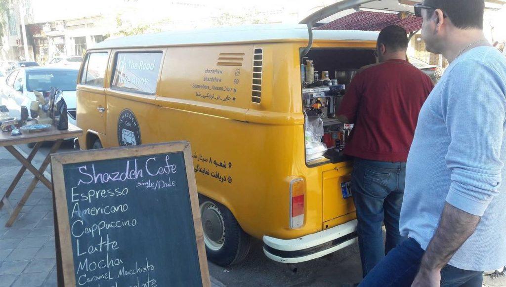 Kashan coffee shops