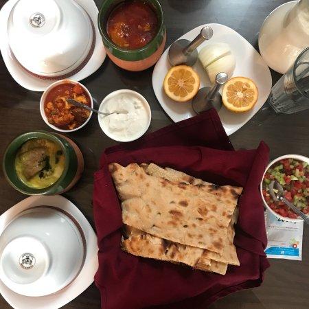 Vegetarian Persian Food in Tehran