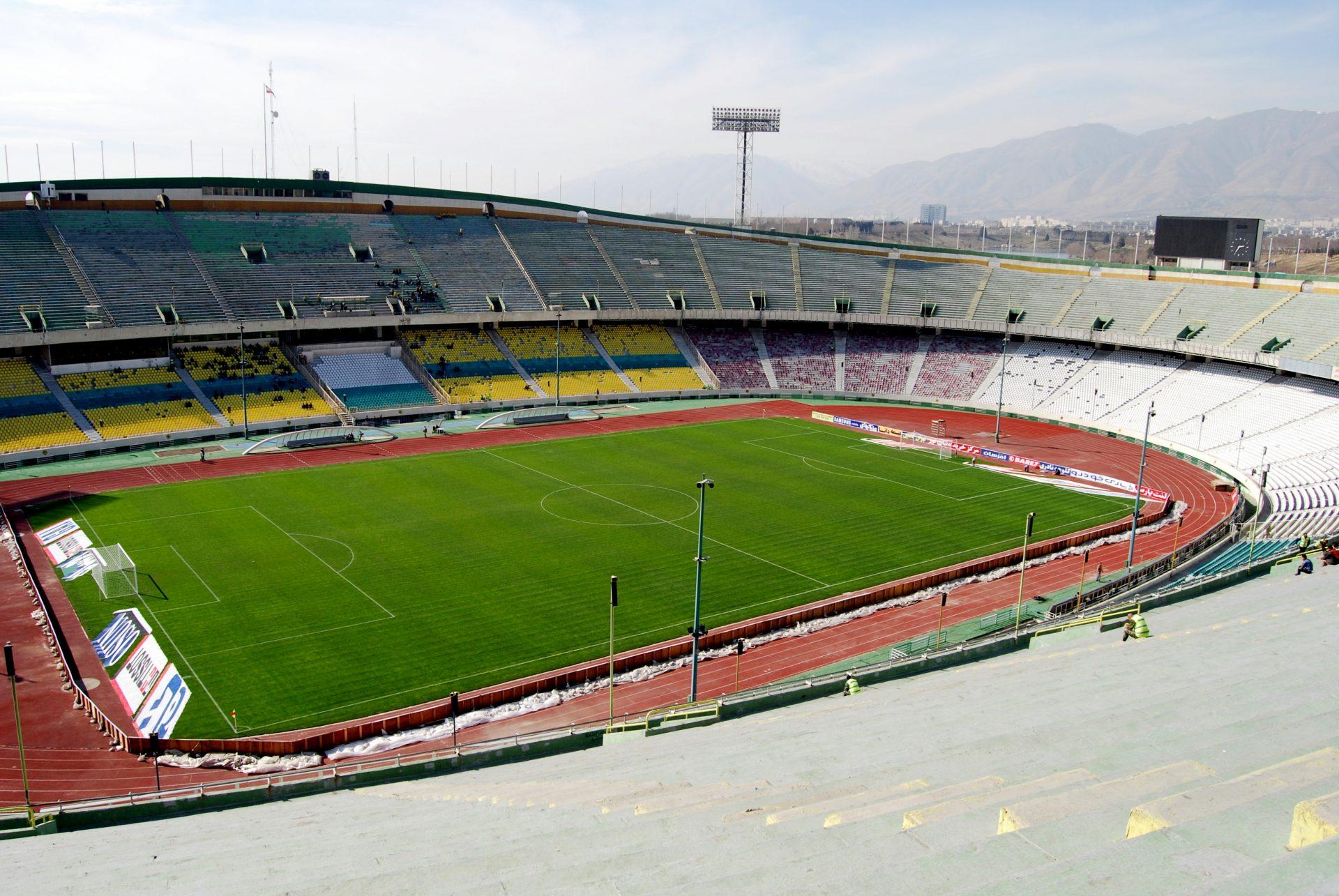 The Azadi Stadium, Iran, Tehran