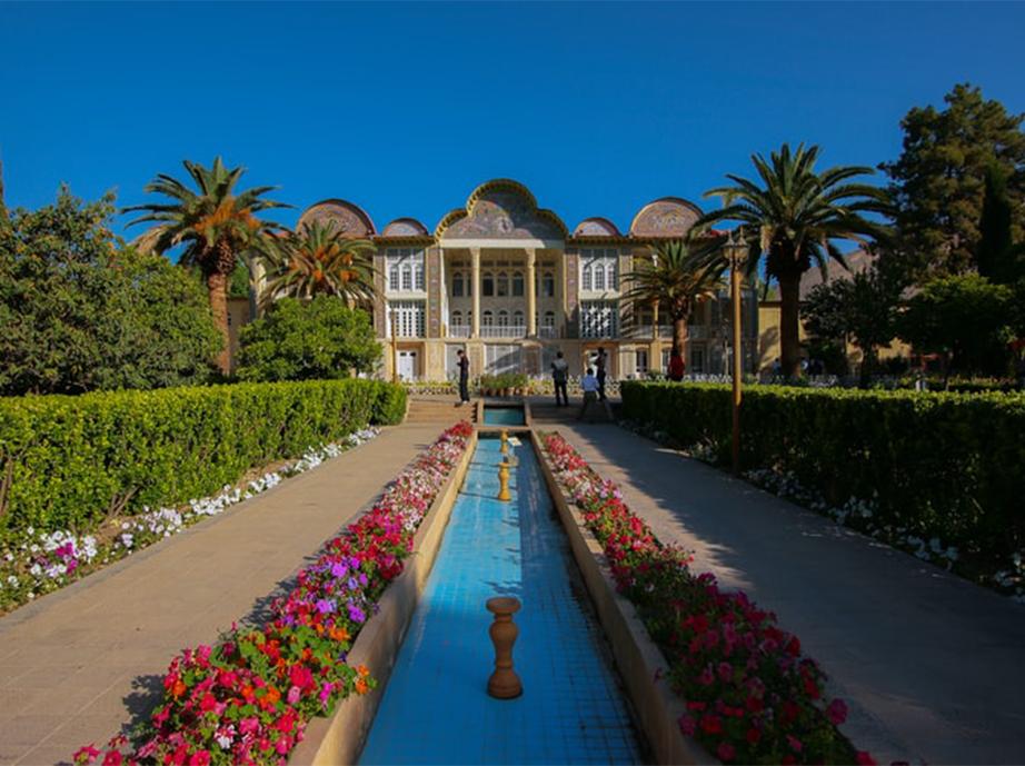 The Eram Garden in Shiraz, Iran