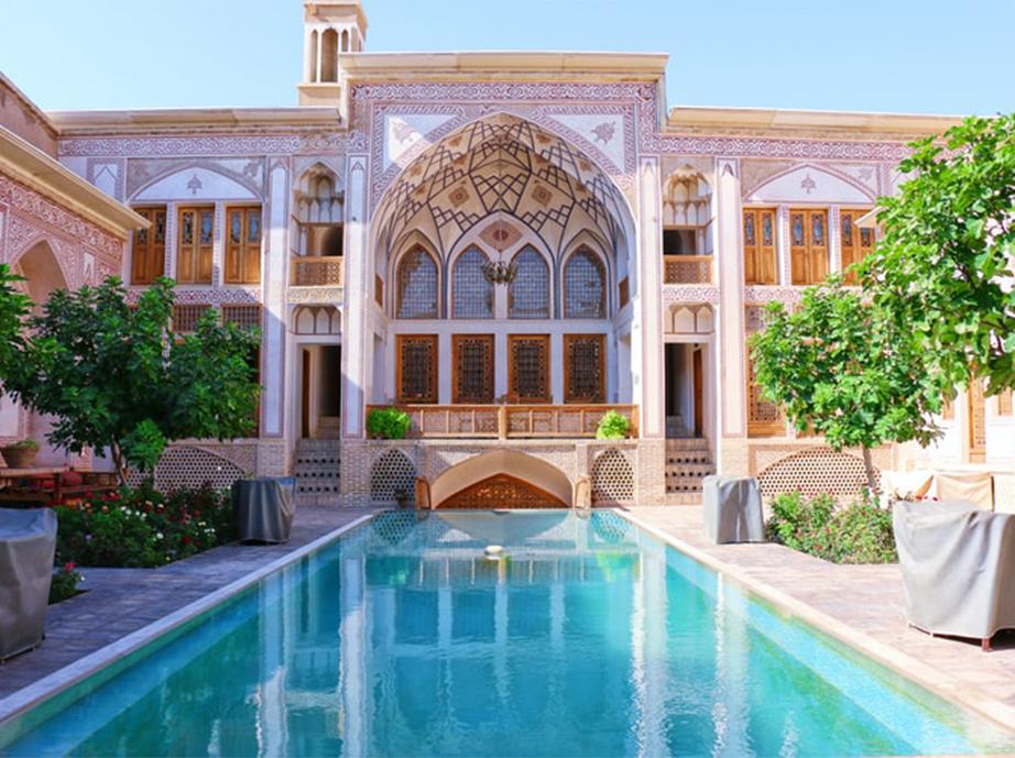 Iranian Hotel in Kashan