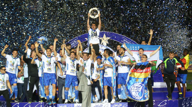 Esteghlal team one of the best football teams in Iran
