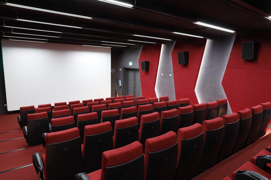 The Lale Park cinema in Tabriz, Iran